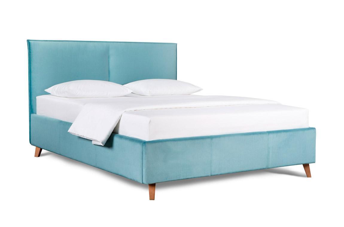 Кровать в мягкой обивке Амелия Люкс. Изображение